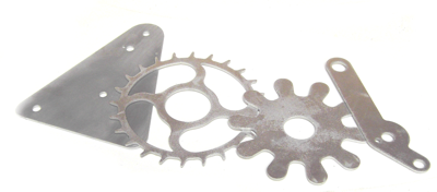 Metal display parts